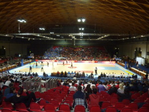 dalla riva sports floor removable parquet rimini 2015