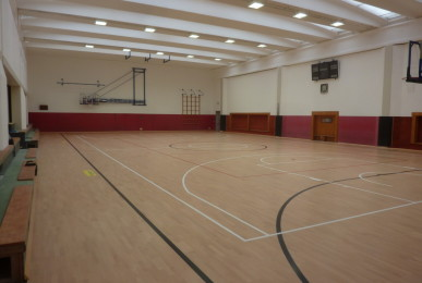 """Another """"pearl"""" Dalla Riva Sportfloors between the green mountains of the Val Chiavenna"""