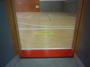 """Positive appreciation from the users of the gym Piuro: """"This flooring seems to walk on the clouds ..."""" commented a lady"""