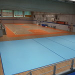 """The splendid view of the new gym """"Falcone and Borsellino"""" Canegrate"""