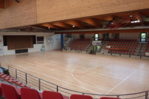 The new sports floor Dalla Riva Sportfloors ensure athletes of Briantea 84 best performances during the races of the championship wheelchair basketball series A1