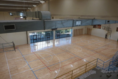 The gym of Gossolengo is destined mainly to the women's volleyball