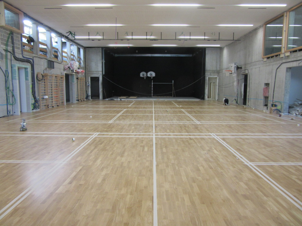"""In Bressanone a """"multitasking"""" gym, suitable to do many things at the same time thanks to the sports floor Dalla Riva Sportfloors"""