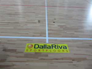 The intervention of Dalla Riva Sportfloors in the gymnasium of Santhià was all the more solver