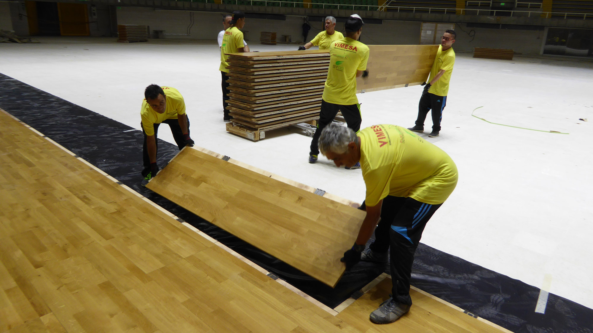 Removable sports flooring easy to install - FIFA Futsal World Cup 2016 Colombia