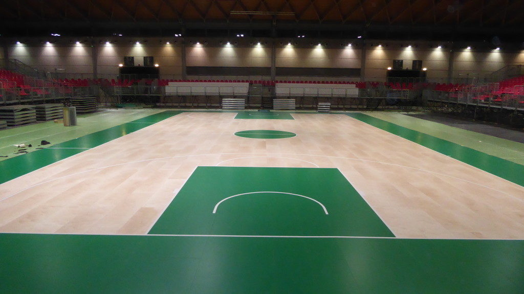 Everything is ready! The new removable Dalla Riva Sportfloors awaits you in Rimini Fiera from 16 to 19 February