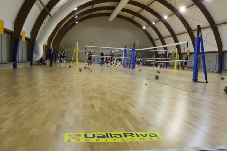 JUMP SYSTEM SPORTING PARQUET DALLA RIVA SPORTFLOORS FOR VOLLEYBALL