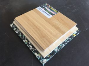 parquet rubber wood 22 - Dalla Riva Sportfloors - hardwood for hockey